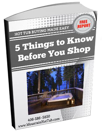 Hot Tub Buyers Guide at Mountain Hot Tub