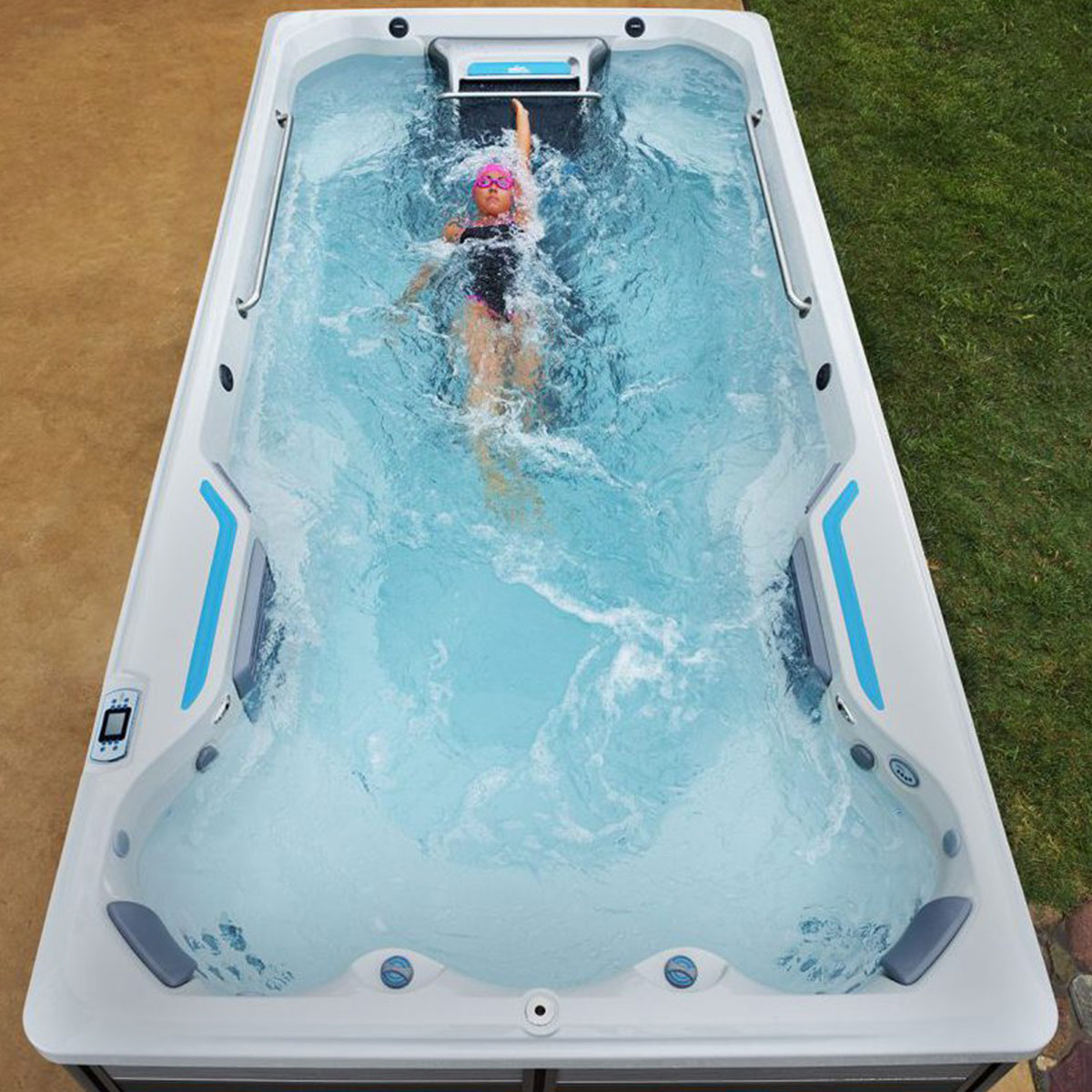 E500 Endless Pools Fitness Systems Mountain Hot Tub