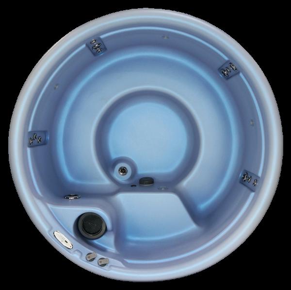 Nordic Hot Tubs Impulse DP overhead image